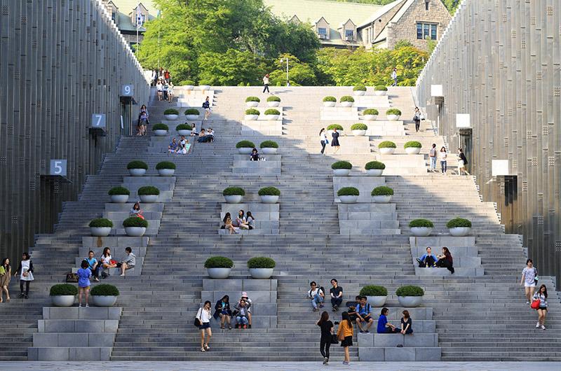 Universidad Femenina de Ewha, oeste de Seúl, Corea del Sur