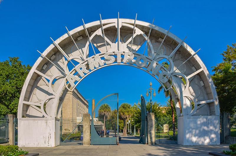 Louis Armstrong Park, Nueva Orleans, EEUU