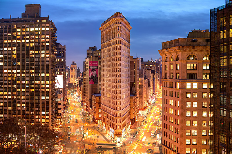 Flatiron building, Nueva York, EEUU