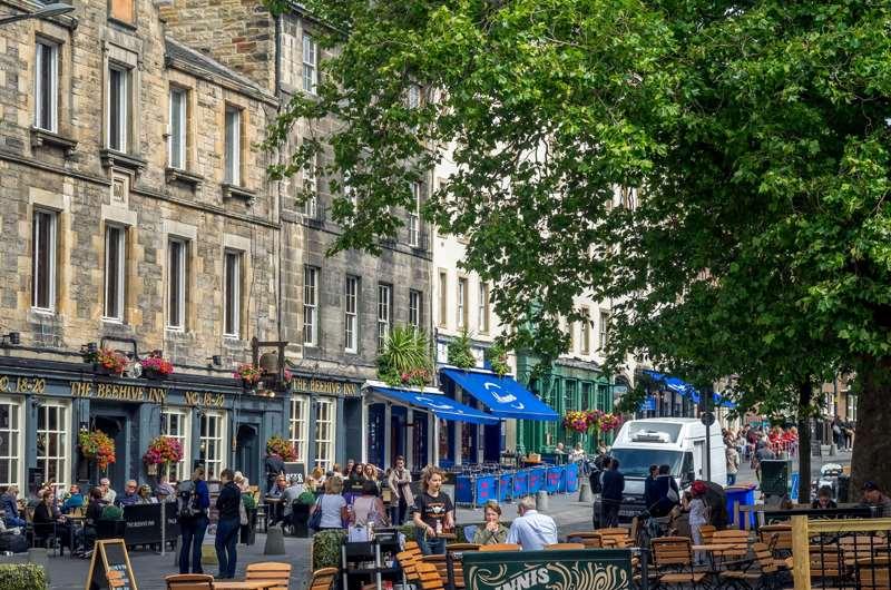 Grassmarket, Old Town, Edimburgo, Escocia
