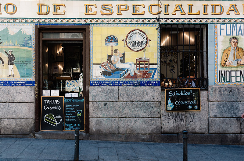 Malasaña, Madrid, España