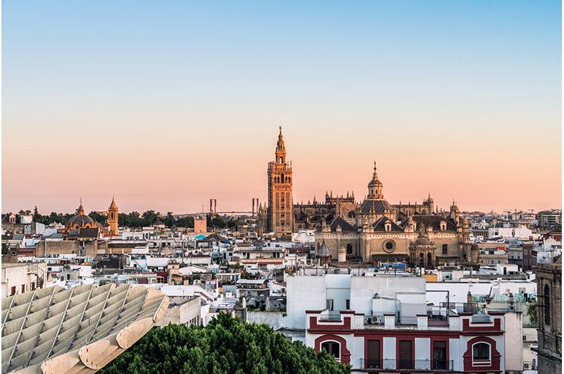 Centro de Sevilla, Andalucía, España