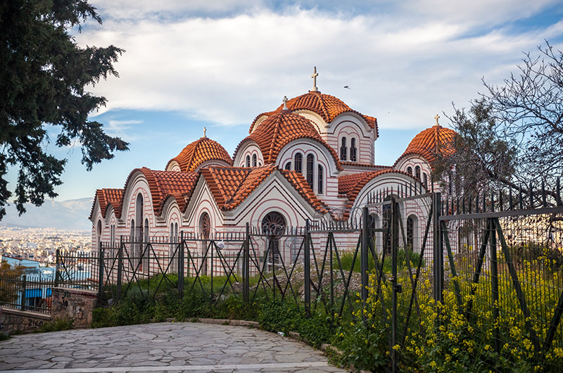 Iglesia de Agia Marina, Atenas, Grecia
