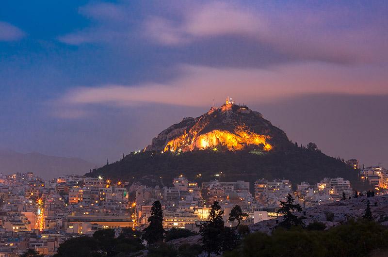 Monte Licabeto, Kolonaki, Atenas, Grecia