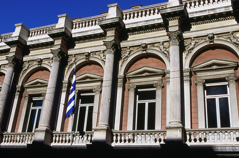Teatro Nacional, Omonia, Atenas, Grecia