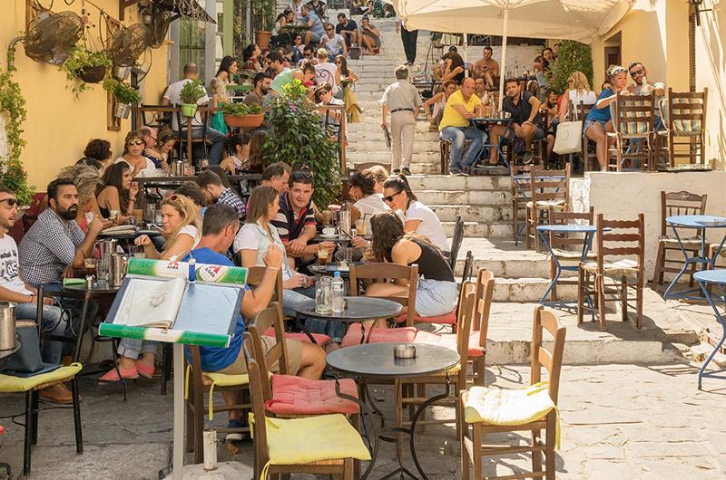 Plaka, Atenas, Grecia