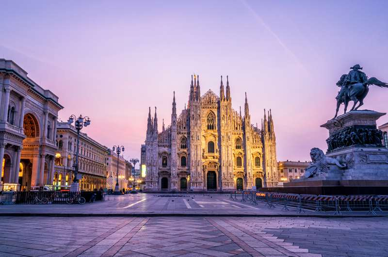 Duomo, Milan, Italia