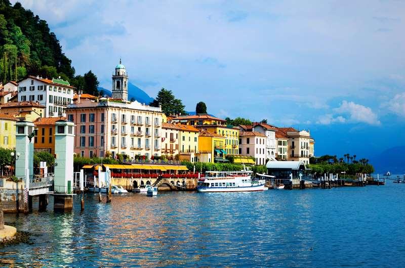 Lago di Como, Milán, Italia