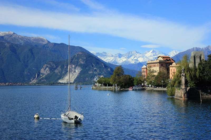 Lago Maggiore, Milán, Italia