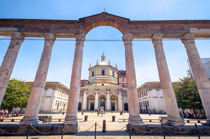 San Lorenzo, Navigli, Milán, Italia