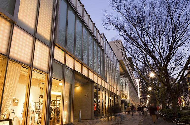 Calle del barrio Aoyama, Tokio, Japón