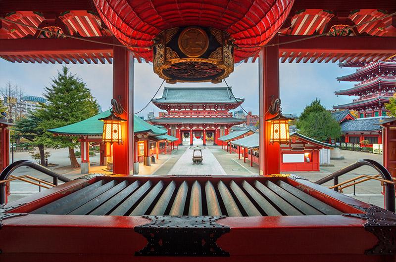 Sensō-ji, Asakusa, Tokio, Japón