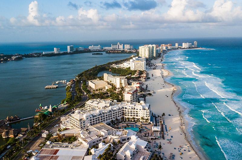 Zona Hotelera, Cancún, Riviera Maya, México