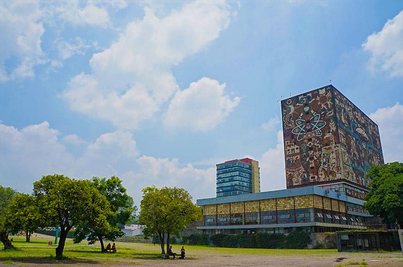 Universidad Nacional Autónoma de México (UNAM), sur de Ciudad de México, México