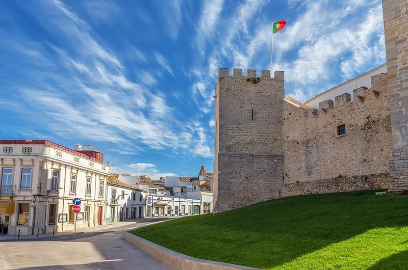 Castillo de Loulé, Algarve, Portugal
