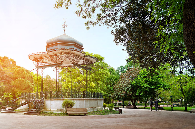 Jardim da Estrela, Lisboa, Portugal