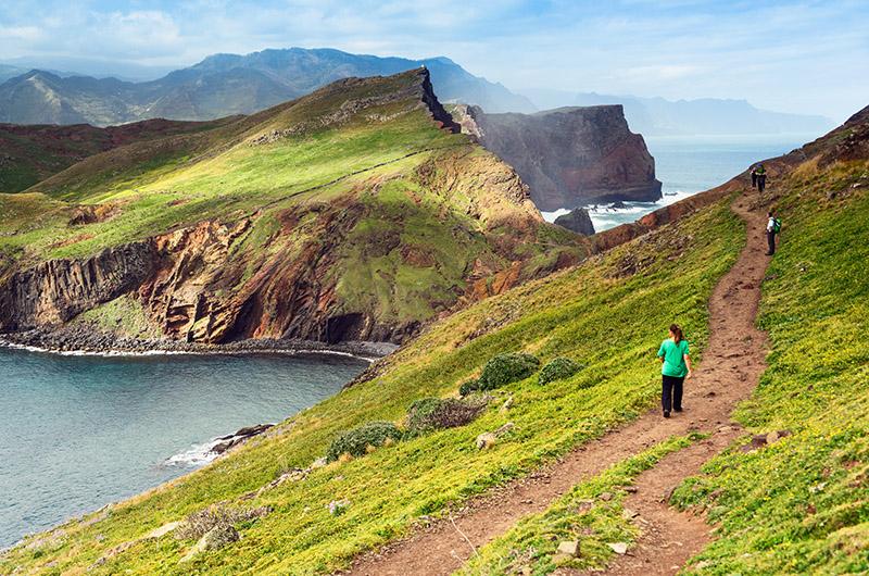 Ruta São Lourenco, este de Madeira, Portugal