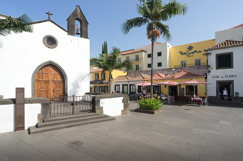 Zona Velha, este de Funchal, Madeira, Portugal