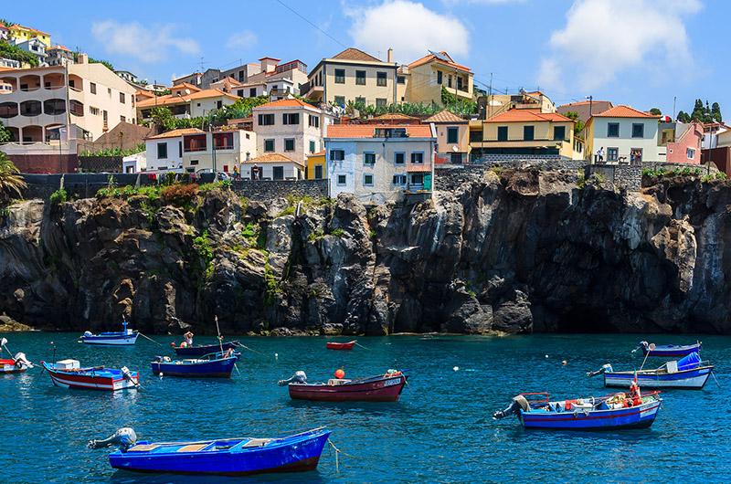 Câmara de Lobos, oeste de Madeira, Portugal