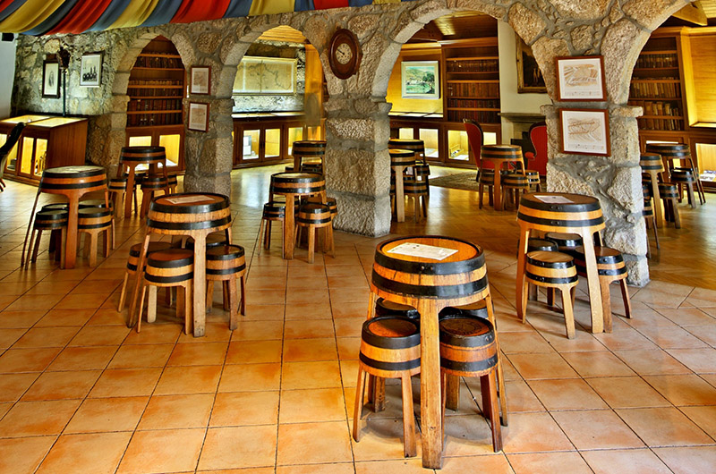 Sala de cartas, Taylor's, Vila Nova de Gaia, Oporto, Portugal