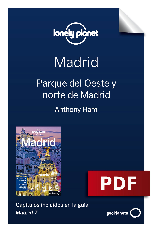 Parque del Oeste y norte de Madrid