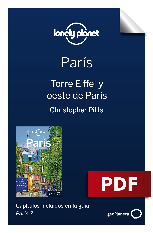 Torre Eiffel y oeste de París