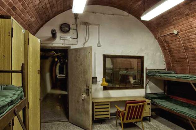 10-Z Bunker, Brno, República Checa © www.10-z.cz