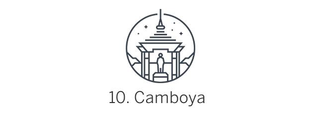 Camboya, Top 10 de Best in Asia Pacific 2019, los 10 mejores destinos de Asia-Pacífico