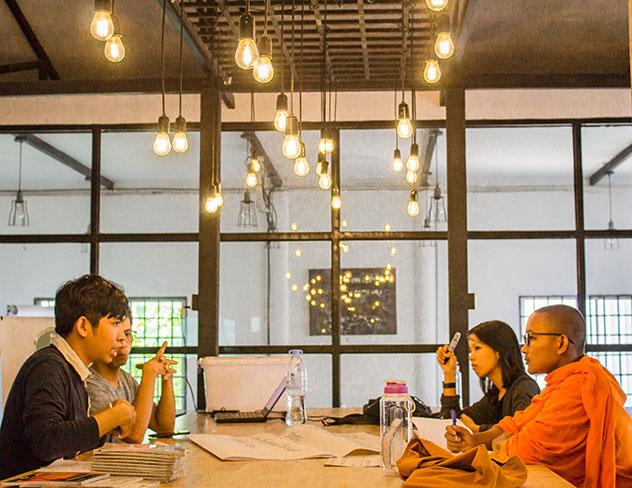 Turismo sostenible: comunidad. Footprint Café, un espacio comunitario en Seam Reap