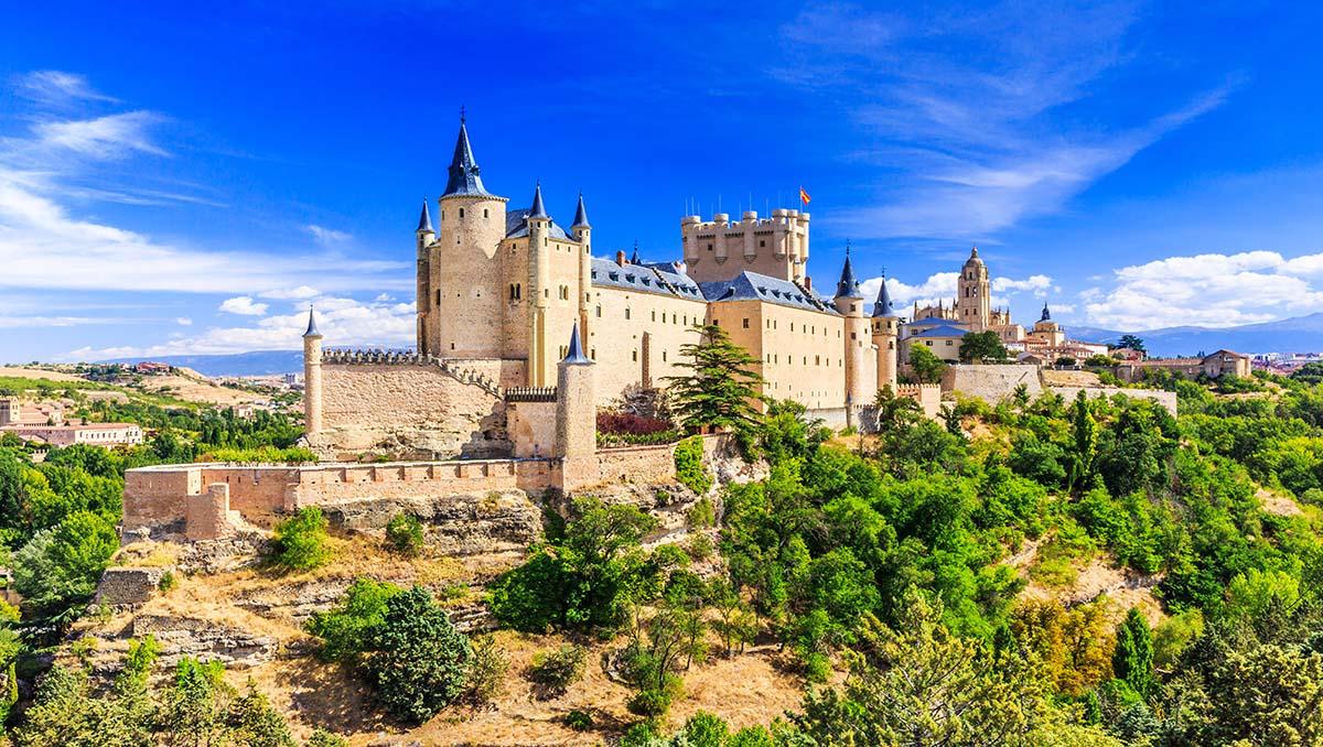 Alcázar de Segovia en Castilla y León