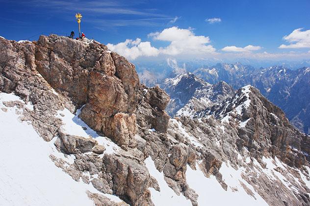 Alemania: Zugspitze, el pico más alto de Alemania