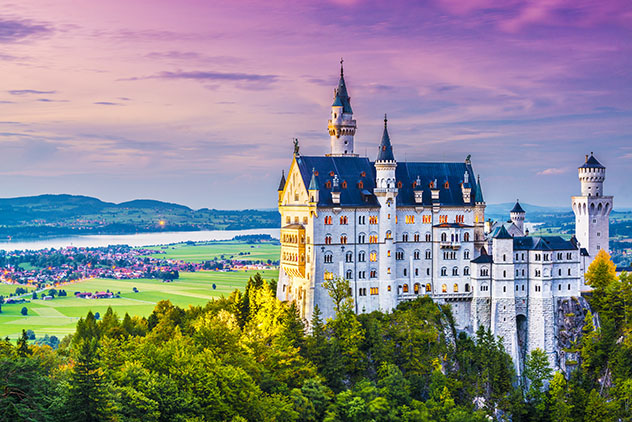 Alemania: castillo de Neuschwanstein en Baviera
