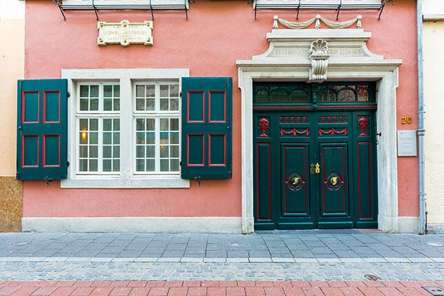Casa natal de Beethoven en Bonn, Alemania