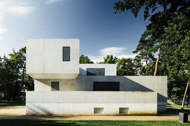 Casas de los Maestros de la Bauhaus reconstruidas en Dessau, Alemania © Tillmann Franzen, tillmannfranzen.com VG Bild-Kunst, Bonn 2018