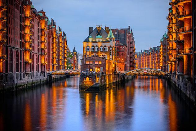 Alemania: Speicherstadt d Hamburgo
