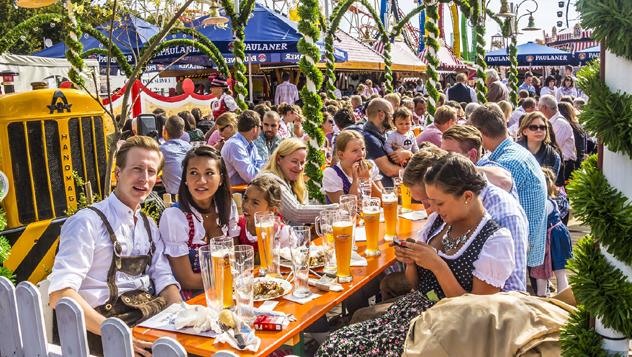 Alemania, Múnich, Oktoberfest © anandoart / Shutterstock