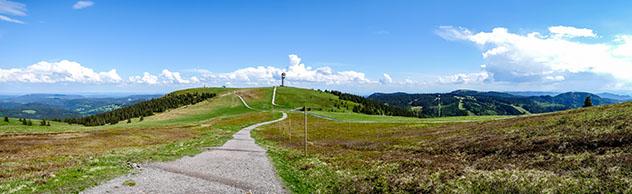 Selva Negra alemana: monte Feldberg