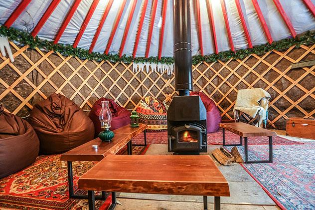 Aventuras en familia: alojamiento en yurta