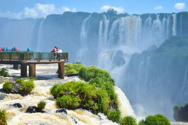 Cataratas del Iguazú,Brasil, Argentina