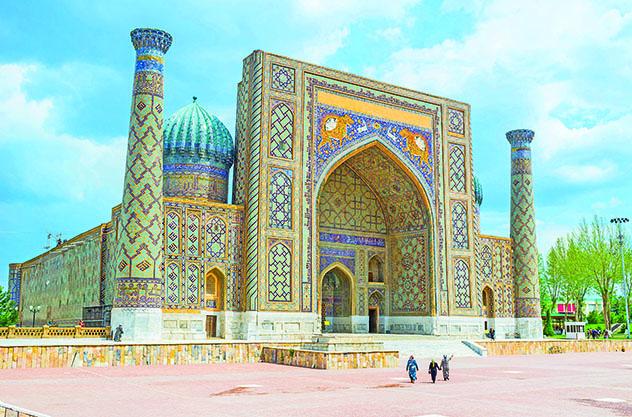 Ruta de la Seda centroasiática, región Top 1 Best in Travel 2020