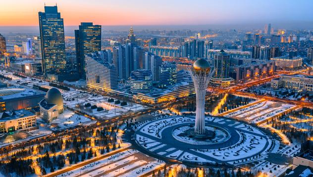 Astana, Kazajistán © evgenykz / Shutterstock