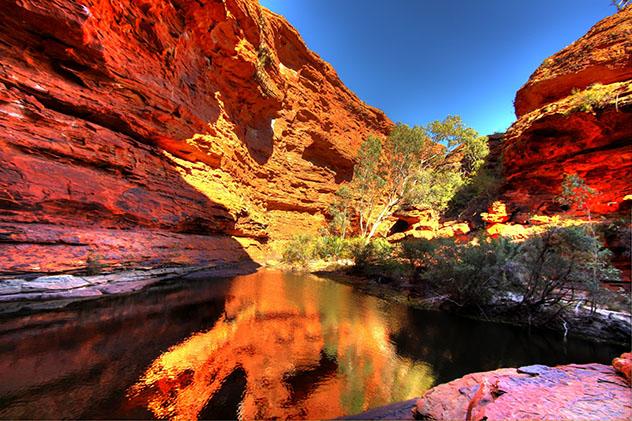 Lo mejor del Centro Rojo de Australia: Kings Canyon