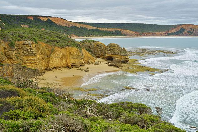 Playa nudista de Australia: Point Addis, Victoria