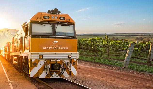 Great Southern, tren de Adelaida a Brisbane, Australia