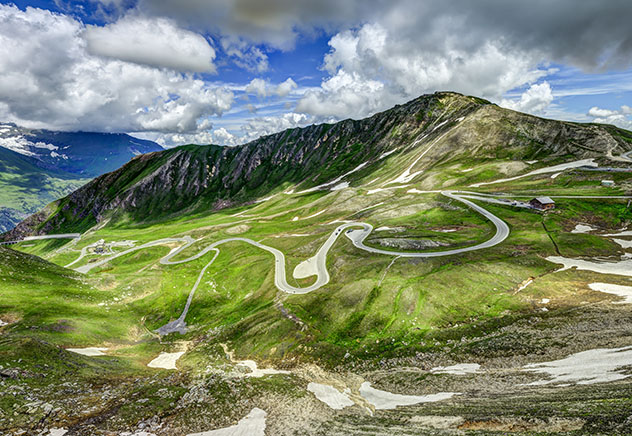 Carretera de Europa: Grossglockner, Austria