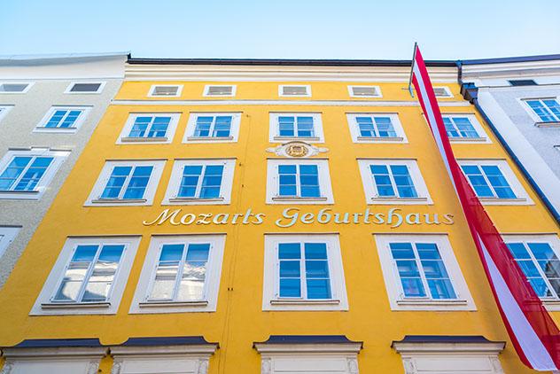 Salzburgo y la música: casa natal de Mozart