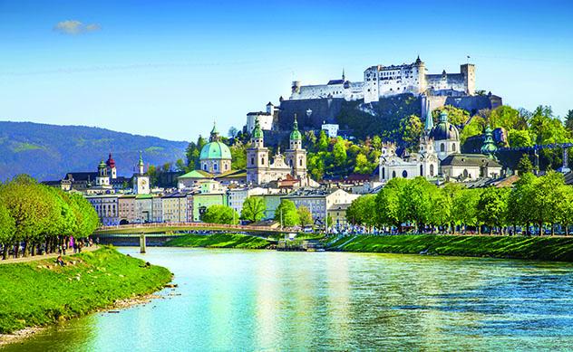 Salzburgo, Austria, ciudad Top 1 Best in Travel 2020