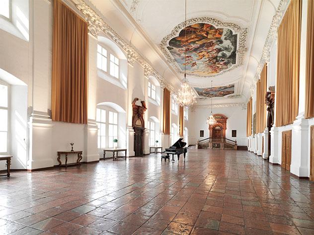 Salzburgo y la música: sala de la Residenz