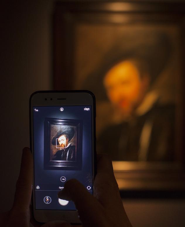 Autorretrato de Rubens, casa de Rubens, Amberes, Bélgica © Kris Ubach