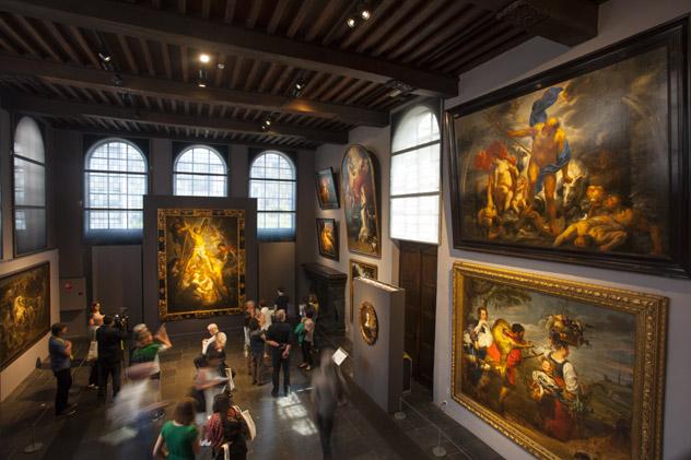 Taller de la casa de Rubens, Amberes, Bélgica © Kris Ubach